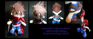 Strider Hiryu Plushie by sengster