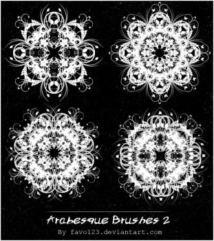 Arabesque Brushes 2 by favo123