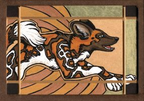 Wild Dog Totem by XianJaguar
