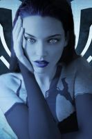 Cortana with the face of Paisha Coffey by SweShadow90