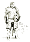 Captain Rahl Son of Beck, Man of Numenor by Qualinwraith