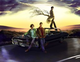 Supernatural: Wayward Sons by ghostfire