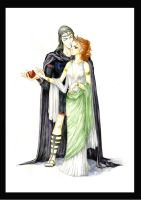 Hades and Persephone by Ka-ren