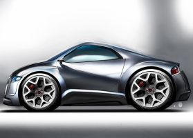 Mini Audi R-Zero Concept by TrabzonSport