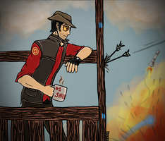 Just another day at 2Fort by xMashykax