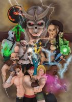 Mortal Kombat by SLewis18