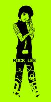 Rock Lee___pondersome. by chlo-bou