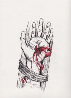 The Crucified Hand by Aodhagain
