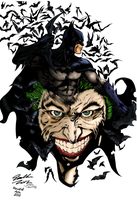 Batman The Last Laugh by RevafallArts