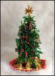 Beaded Christmas Tree by minami63