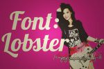 Font Lobster by EnjoyingMyIdolsNJ-DL