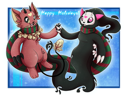 Yuunic Christmas Love by LunaStar52