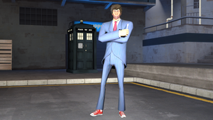 [SFM] Tenth Doctor by MarcoMetalWolf