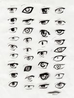 Anime Eyes by Ufuru18