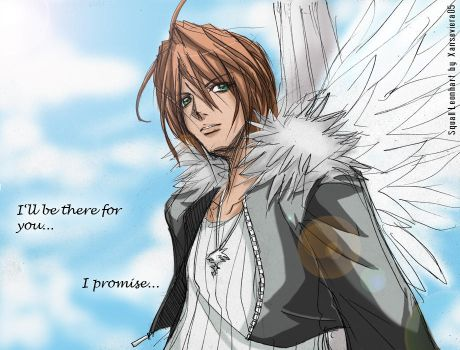 Squall Leonhart+I promise by xanseviera