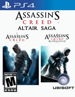 Assassin's Creed Altair Saga PS4 (Idea) by Varimarthas5