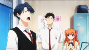 'Gekkan Shoujo Nozaki-kun' ep.10 Kasima Singing by lezisell