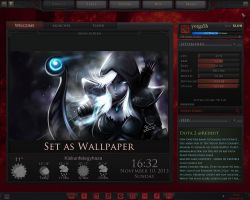Dota 2 Rainmeter Rework WIP by yorgash