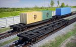 Container carrier (fitting platform) wagons by pnn32