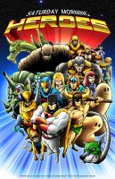 Saturday Morning Heroes by DCON