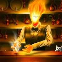Grillby by LuCCas93