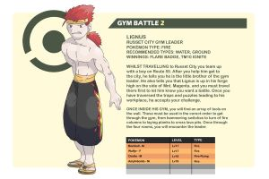GYM BATTLE 2 - Lignus by Hallm3