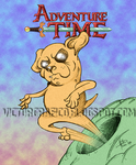 Adventure Time Jack Character by victorgrafico