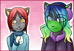 Hearts of Steam- MZoey + Saedi by pichu4850