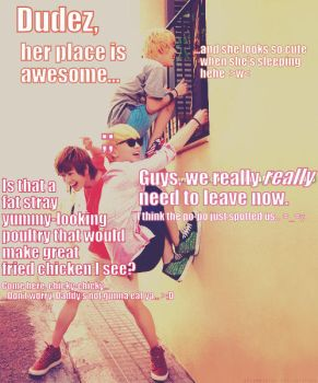 SHINee and Stalking by love-N-hate-N-all
