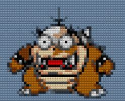 Morton Koopa Jr Lego by drsparc