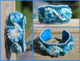 Blue Moon - Cuff - For Sale! by Thy-Darkest-Hour