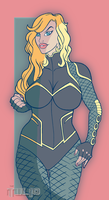 BlackCanary08C1 by TULIO19mx