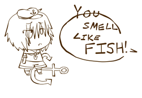 Cap'n Smells of Fish? by Sulna