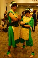 Otakon 2012 Cosplayers - Two Toph For You? by LordNobleheart