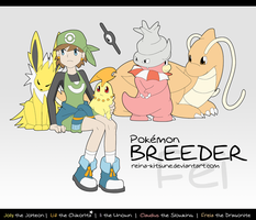 The Pokemon Breeder by Reina-Kitsune