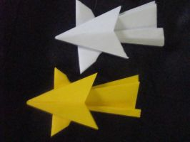 Origami Shooting Star by Path-of-Sendo