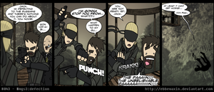 MGS3:Defection by ebbewaxin