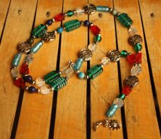 Elemental Prayer Beads by druideye