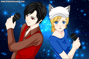Marshall Lee and Fionna by Rinmaru by neverb4