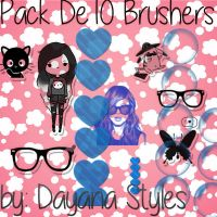 Pack de Brushers By Dayana Styles by DayanaStyles