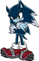 Sonic The Werehog - Full Art by Tails19950