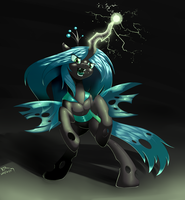 Queen Chrysalis by RenateThePony