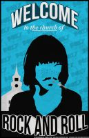 Welcome to the Church of Rock and Roll by Brieana