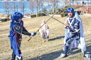 Katsucon 2015 - Fiery Family(PS) 07 by VideoGameStupid