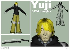 yuji game model wip003 by kurocrash