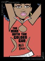 Misty Knight / Shaken and Stirred by BillWalko