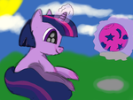 Baby Twilight Practices by herpdragon