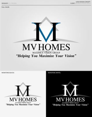 Maximus Vision Homes Logo by vcx-designs