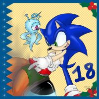 Sonic Advent Calendar: 18th by Feniiku