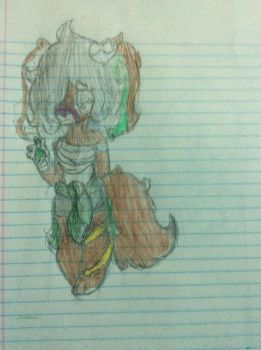 A very bad colored in photo of Angela~ by Inkosaurs230